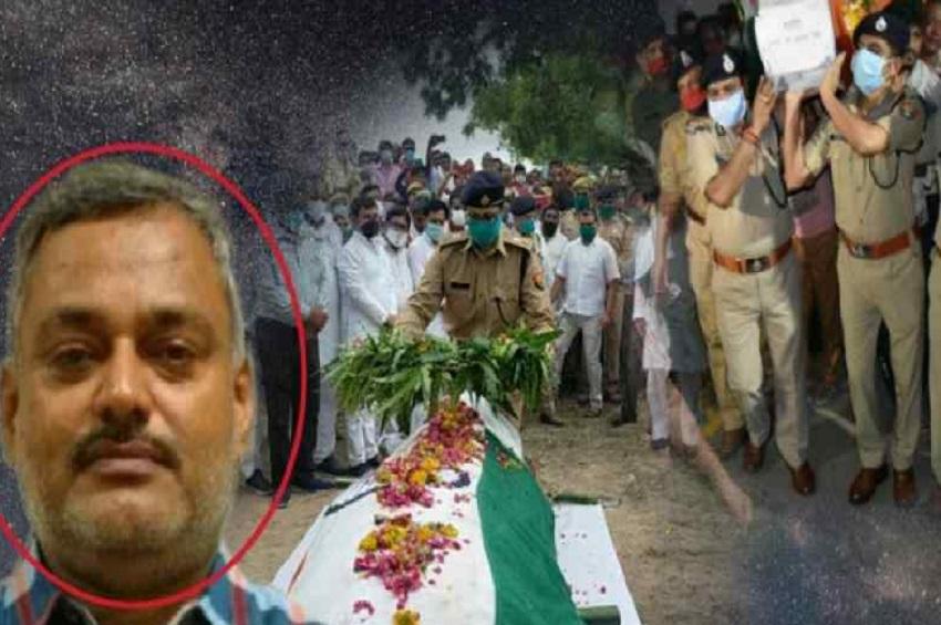 8 पुलिसकर्मी हुए थे शहीद, 7 दिन में 6 बदमाशों को ढेर कर चुकी है