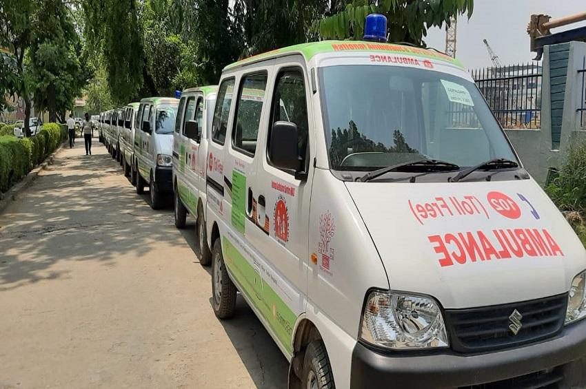 बिहार: दिमागी बुखार से प्रभावित जिलों में भेजी गई 28 एम्बुलेंस