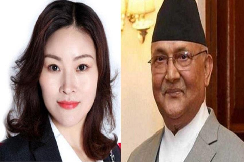चीनी राजदूत फिर बनीं नेपाल के पीएम ओली के लिए संकटमोचक